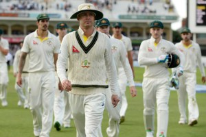 Michael Clarke finished his career with a victory
