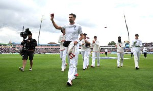Jimmy Anderson destroyed Australia on the first day