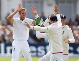 Stuart Broad all but ensured the Ashes will be heading back to England