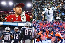 Which two of these great QB's will make Superbowl 50